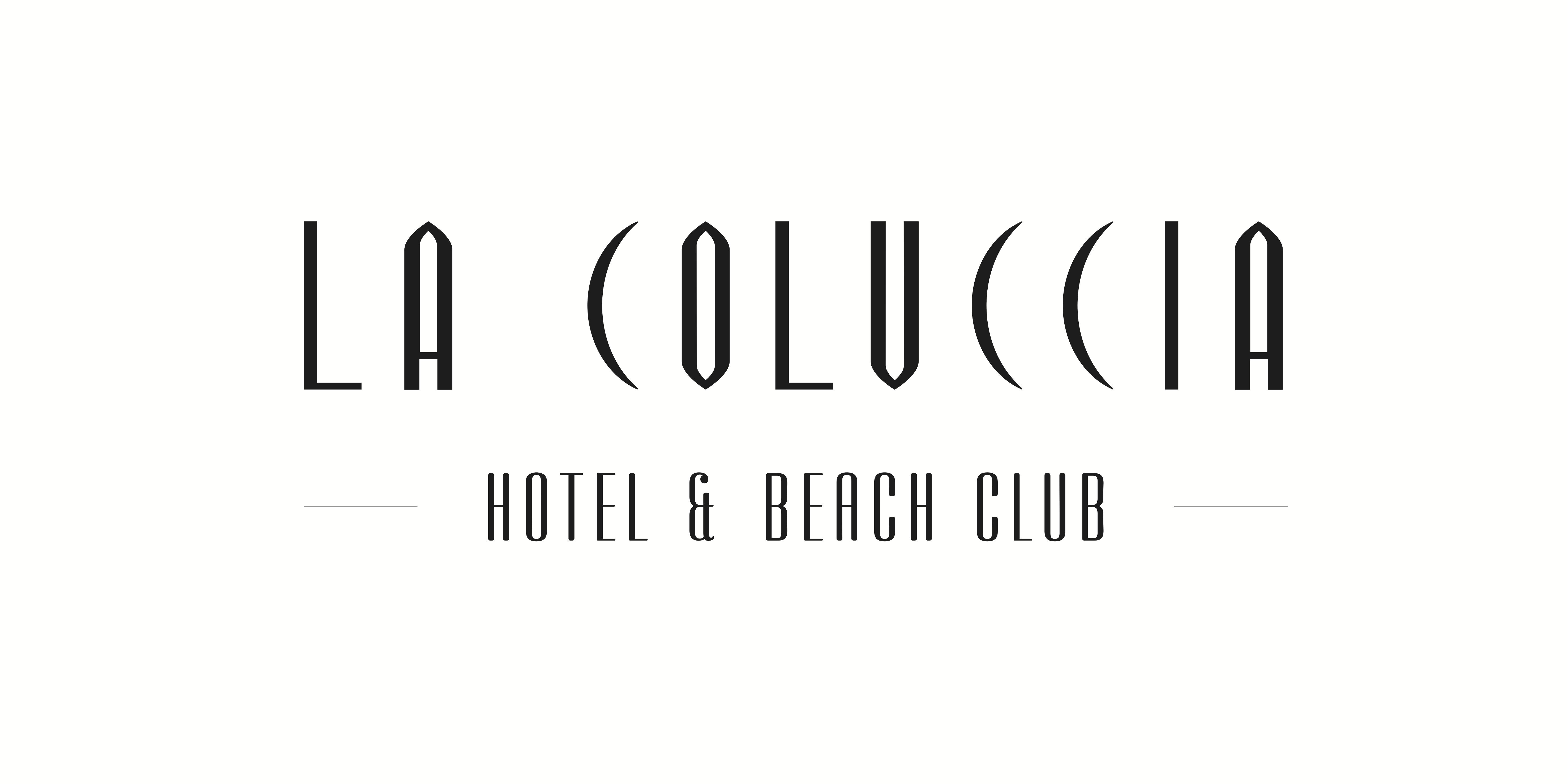 La Coluccia Hotel & Beach Club Nero sfondo Bianco